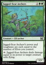 2x Jagged-Scar Archers | NM/M | Elves vs. Inventors | Magic MTG