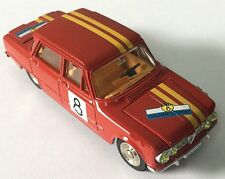 "ATLAS 1/43 DINKY TOYS 1401 ALFA ROMEO GIULIA 1600 TI-Decoration""Rallye"" model"