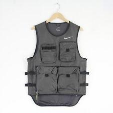 New Mens Nike Run Ready Reflective Combat Military Vest Gilet M CI6598 082 BNWT