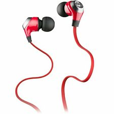 Monster N-LITE In Ear Headphones High Performance Audio Candy Apple Red NEW