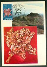 CARTES 1ER JOUR MAXIMUM  SERIE DES REGIONS L'AUVERGNE  04/10/1975 N° 38