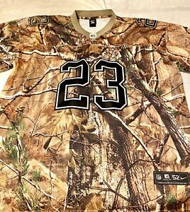 NFL Arian FOSTER #23 HOUSTON TEXAN  Jersey Adult Size 52 Real Tree Camo Jersey