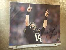 Bryce Petty Autographed 8X10 Baylor Bears Photo w/ Coa
