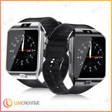 NEW 2019 Smart Watch DZ09 Phone & Camera Bluetooth Android BLACK
