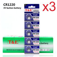 15PCS CR1220 3V 1220 LI Button Coin Cell Batteries For Watch Remote Toys Cameras