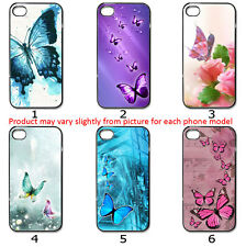 For Phone Hard Case Cover Beautiful Pretty Butterfly Collection Set B