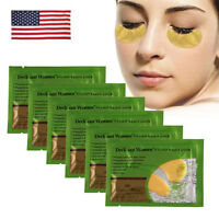 30 x Gold Anti-Wrinkle Dark Circle Collagen Under-Eye Patches Eye Treatment Mask