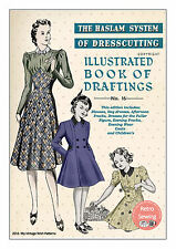 The Haslam System of Dresscutting No.16 1930's  - Copy