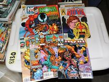 Nova Lot of 7 books #1 #2 #3 #4 #5 #7 (1999) and #21 (1978)