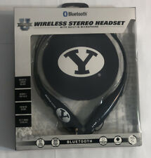 Brigham Young Wireless Stereo Headset Bluetooth Neckband