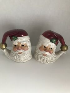 Santa Salt And Pepper Shakers Omnibus By Fitz And Floyd