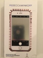 Rebecca Minkoff Glow Selfie Case Cover for Apple iPhone 8 / 7  Rose Gold / Frost