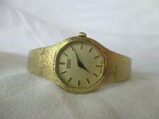 Seiko Goldtone Dress Watch with Metal Bracelet Clasp Band, Elegant Timepiece