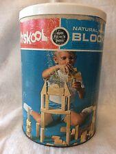 Vintage Playskool Natural Blocks