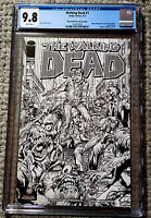 WALKING DEAD #1 CGC 9.8 WIZARD WORLD NEW YORK NEAL ADAMS Sketch Cover (2013)