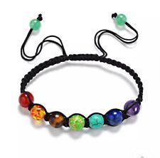 7 Chakra,Root, Sacral,Solar,Hear,Crown Healing Balance Bracelet Yoga Gift Box