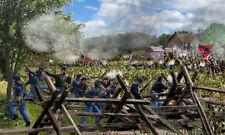 Gettysburg  3rd Maine Peach Orchard Skirmishers Civil War canvas Print/Frame