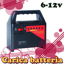 CARICA BATTERIA 6/12v PER BATTERIA AL PIOMBO V580 PER AUTO MOTO