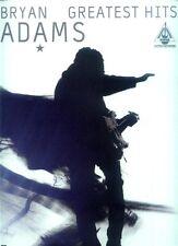 Bryan Adams Greatest Hits Songbook Noten für Gitarre Tab Tabulatur