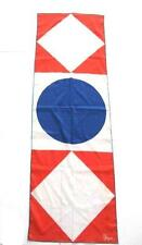 Vintage 1980's Vera Scarf Red White & Blue Abstract Geometric Prints Oblong