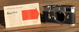 Leica M2 35mm Rangefinder Film Camera Body Only