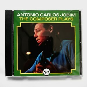 Antonio Carlos Jobim: The Composer Plays CD Verve Jazz 01 Full Silver