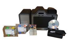 Fargo HDP5000 Dual Side ID Card Printer + Supplies Bundle  P/N 89640
