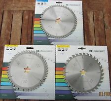 Set 3 lame/HM Widia Lama Sega Circolare 190 x 20 Z 32/48/58 Stehle, in holzkasette