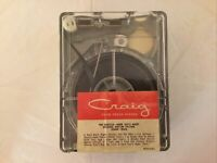 """THE BEATLES RARE CRAIG 4 Track Car Stereo Tape HARD DAY'S NIGHT """"SOUNDTRACK"""""""