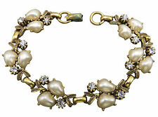 Vintage Rhinestone Bracelet