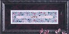 Drawn Thread THE LANGUAGE OF LOVE Cross Stitch/Specialty Stitch Chart~ Valentine