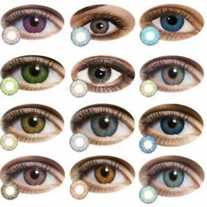 Cosmetic Eye Contact Lense Makeup Natural Beauty Pure Hazel Colour Halloween AU