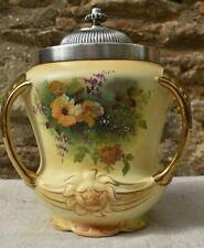 Crown Royal Devon Three handle biscuit urn with lid
