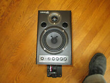 ROLAND / EDIROL MA-15D 45 WATT STEREO STUDIO SPEAKER MONITORS + WALL MOUNTS
