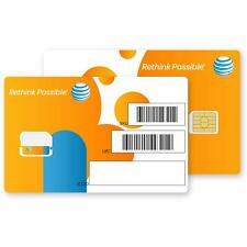 At&t Nano Sim Card for iPhone 5, 5c, 5s, 6, 6 Plus, 7, 8, X, and iPad Air As Se…