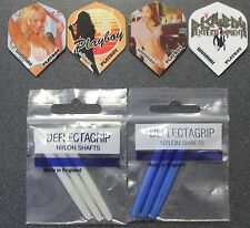 Playboy Flights and shafts party pack. 4 sets of flights + 2 sets of shafts