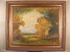 WILLIAM A KNAPP (1862-1934) ORIGINAL SIGNED OIL PAINTING