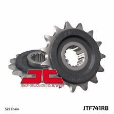 Piñón Con Goma Delantero JTF741.15RB Ducati 1198 Diavel Cromo 2012-2014
