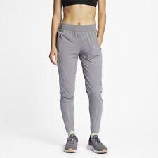Nike Women's XL Swift Running Grey Joggers Pants Trousers 928817-056