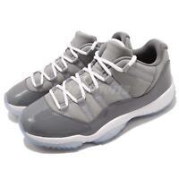 Nike Air Jordan 11 Retro Low XI AJ11 Cool Grey White Basketball Shoes 528895-003