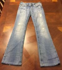 Women's Miss Me Boot Cut Jeans Size 27 Distressed