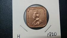 1cent--young king--1920---overprint--dai nippon--high grade