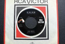 "7"" Elvis Presley - We Call On Him/ You'll Never Walk Alone - USA RCA"