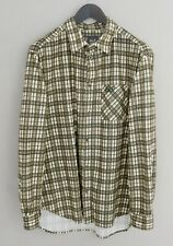 Men Jack Wolfskin Casual Shirt Outdoor Check Polyester XXL MIA183