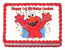 ELMO party decoration edible cake image party cake topper frosting sheet