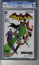 Batman (2011) # 35 NYCC Capullo Variant - CGC 9.8 WHITE Pages - Endgame Part 1