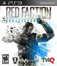 Red Faction: Armageddon (Sony PlayStation 3, 2011) *pre-owned*