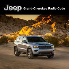 Jeep Radio Code Grand Cherokee Unlock Decode Security Codes All Vehicles Fast Se