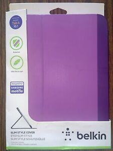 Belkin Galaxy Tab 4 10.1 Slim Style Cover Pink/Purple Ultra Thin & Light