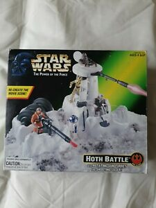 Star Wars POTF2 Hoth Battle Playset